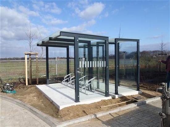 Fahrradunterstand - Garten - einebinsenweisheit